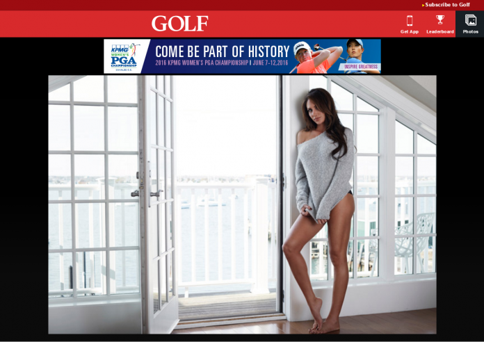 Most Beautiful Women in Golf
