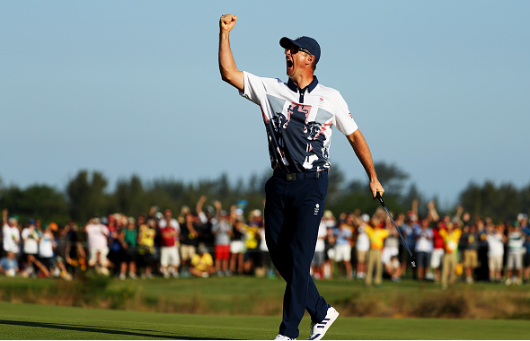 Justin Rose Wins Gold at the Olympics