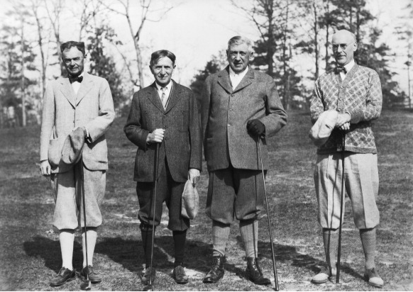 Harvery Firestone (second to left)