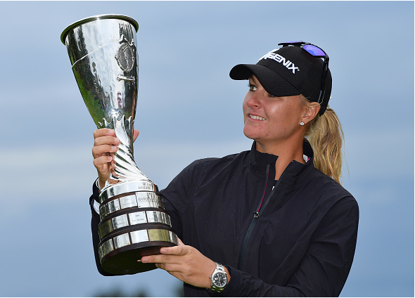 Anna Nordqvist wins 2017 Evian Championship