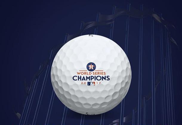 Houston Astros-Titleist collectors golf balls