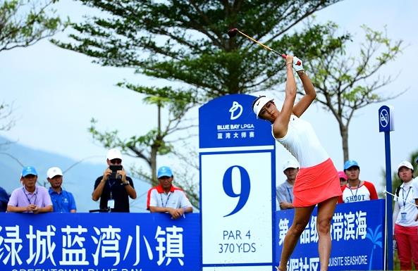 Michelle Wie Blue Bay LPGA