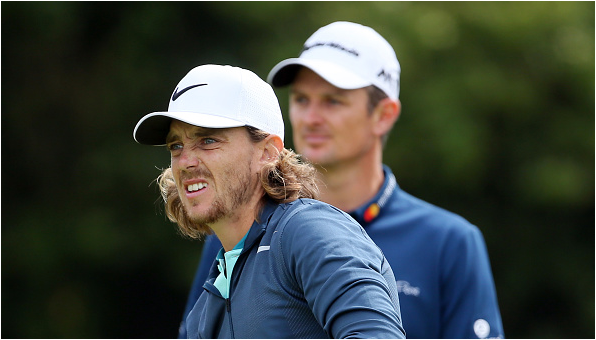 Tommy Fleetwood Justin Rose