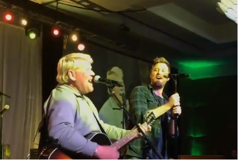 John Daly and Charles Kelley of Lady Antebellum