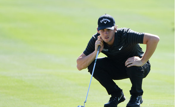 Thomas Pieters Leads in Abu Dhabi