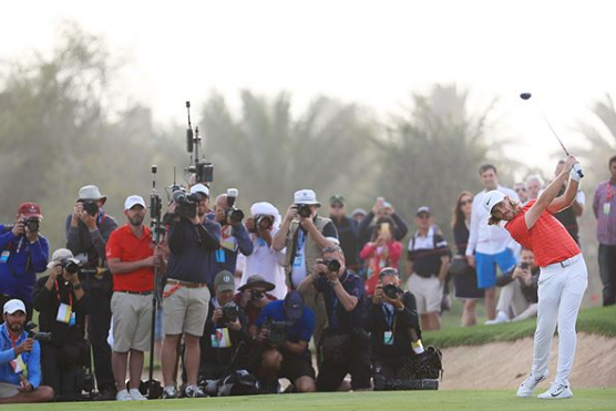 Behind Photo Tommy Fleetwood