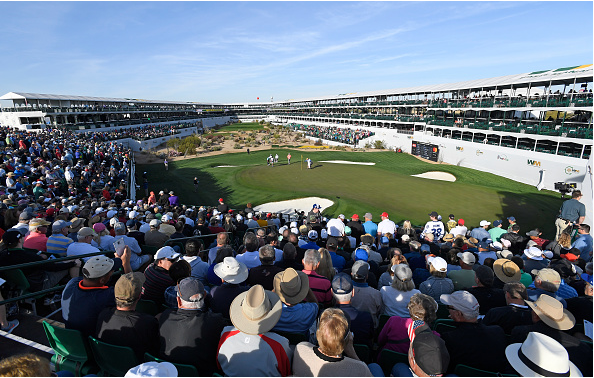 Round 1, Hole 16, 2018 WM Phoenix Open