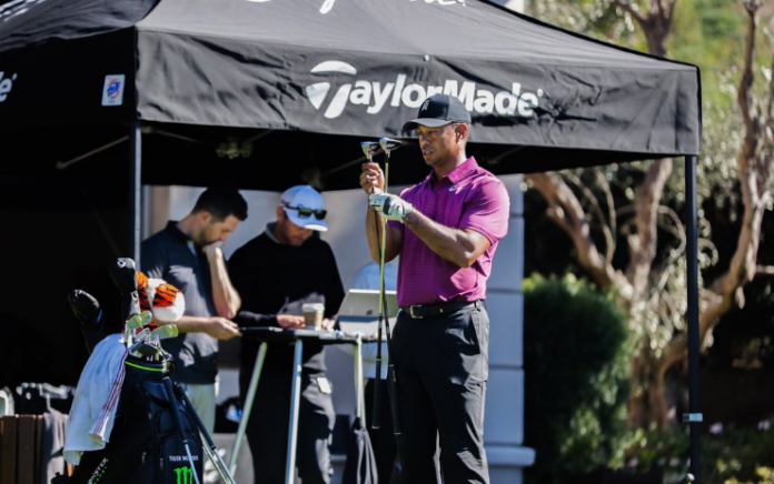 Tiger Woods TaylorMade