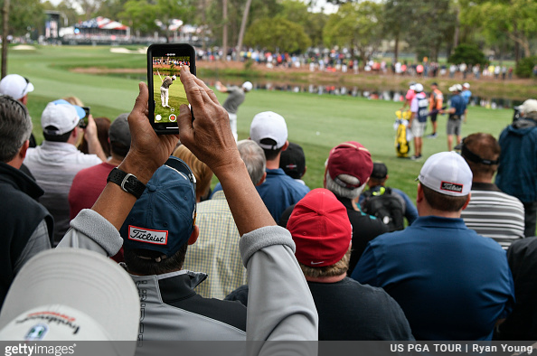 Tiger Woods - Galleries - Third Round - Valspar Championship