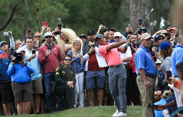 Tiger Woods - Third Round - Valspar Championship
