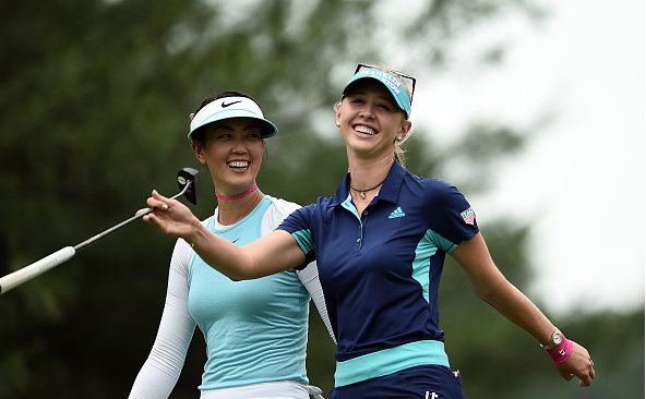 Michelle Wie and Jessica Korda