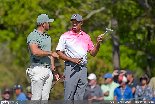 TIGER WOODS Arnold Palmer Invitational Round 2