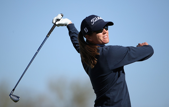 Cydney Clanton Leads Bank of Hope Founders Cup