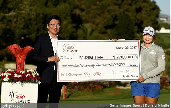 Mirim Lee Wins Kia Classic