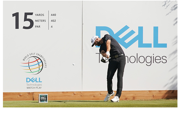Dustin Johnson WGC Dell Play