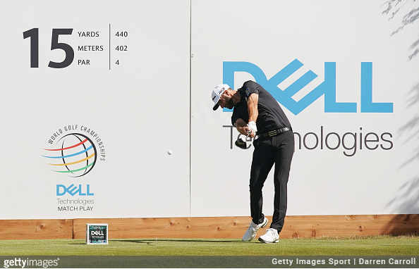 Dustin Johnson Dell Match Play
