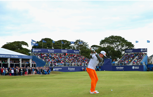 Rickie Fowler Scottish Open