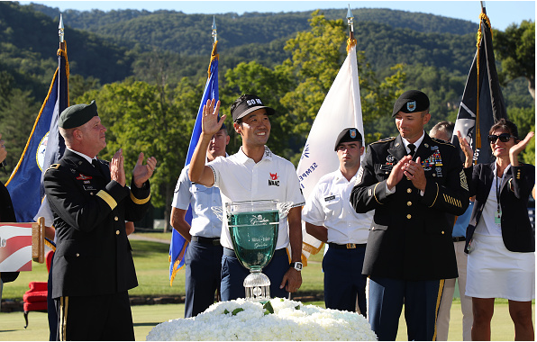 Kevin Na A Military Tribute at The Greenbrier