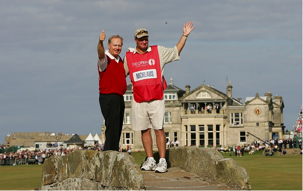British Open Records - Jack Nicklaus in 2005 St Andrews - Most British Open Runner Ups