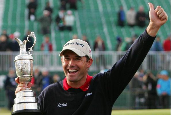 Padraig Harrington Carnoustie British Open Winners