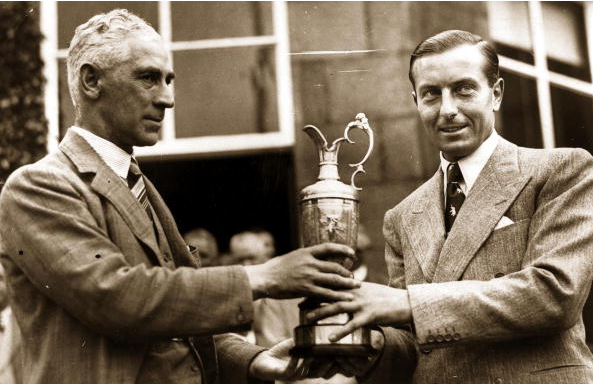 Henry Cotton - Carnoustie British Open Winners