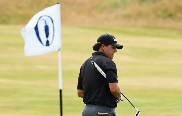 Phil Mickelson Open Championship Power Rankings