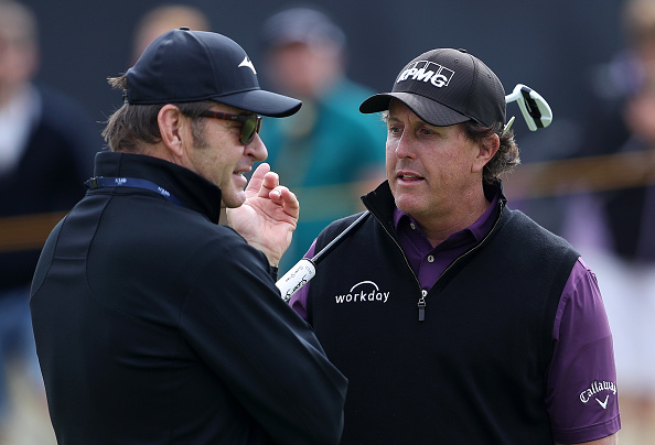 Phil Mickelson Open Championship Stories