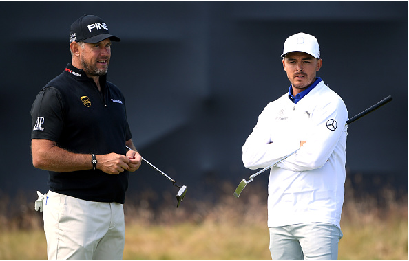 Lee Westwood Rickie Fowler 2018 Open Championship