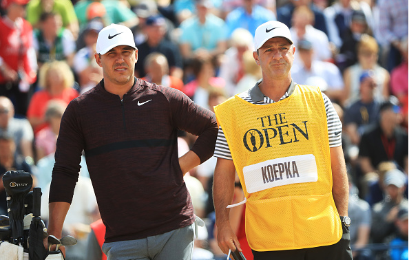 Brooks Koepka Round One Open Championship