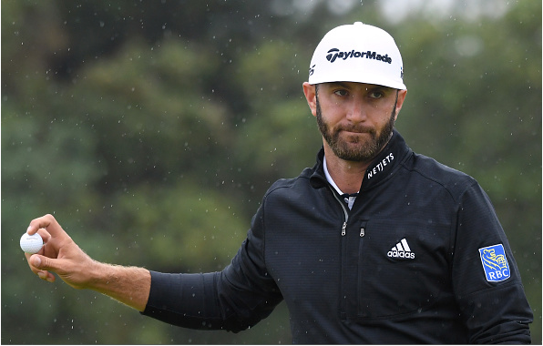 Dustin Johnson 2018 British Open, Round 2