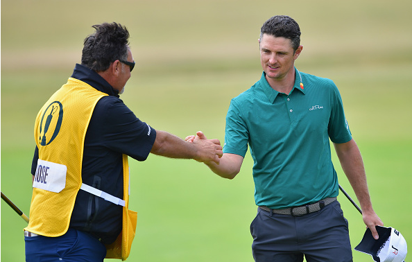 Justin Rose 2018 British Open, Round 3