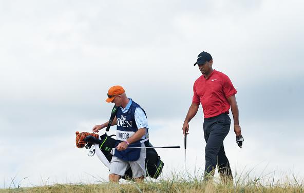 Tiger Woods 2018 British Open, Round 4