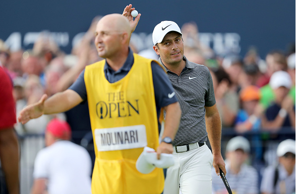 Francesco Molinari 2018 British Open, Round 4