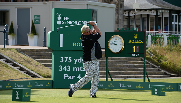 John Daly 2018 Senior Open Old Course St Andrews