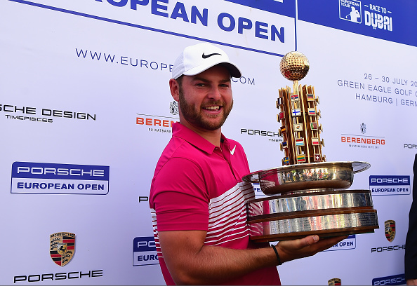 Jordan Smith 2017 Porsche European Open