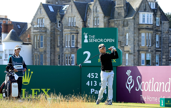 Bernhard Langer 2018 Senior Open at The Old Course in St Andrews
