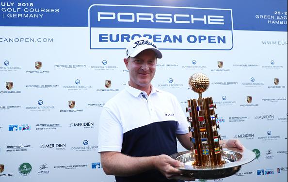 Richard McEvoy 2018 Porsche European Open