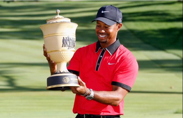 Tiger Woods 2013 World Golf Championships-Bridgestone Invitational at Firestone Country Club South Course