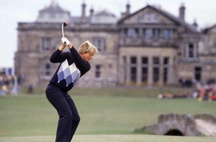 Jack Nicklaus 1978 British Open-St Andrews