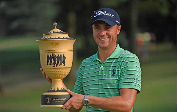 Justin Thomas Wins 2018 WGC-Bridgestone Invitational