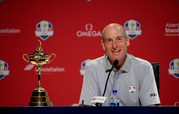 Ryder Cup Captain Jim Furyk