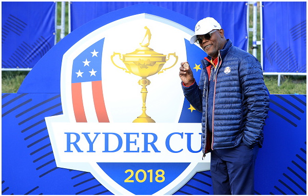 Samuel L. Jackson Ryder Cup