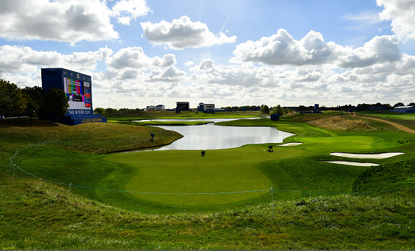 16th green Le Golf National Ryder Cup