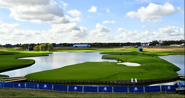 Le Golf National 15th 18th Ryder Cup