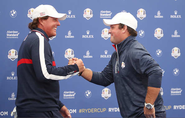 Phil Mickelson and Patrick Reed Ryder Cup
