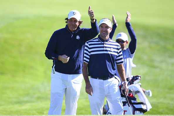 Phil Mickelson and Bubba Watson Ryder Cup
