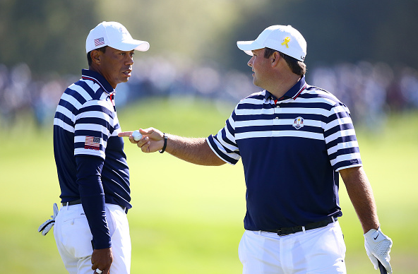 Tiger Woods and Patrick Reed Ryder Cup