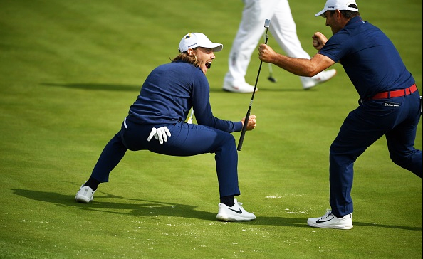 Francesco Molinari and Tommy Fleetwood Ryder Cup