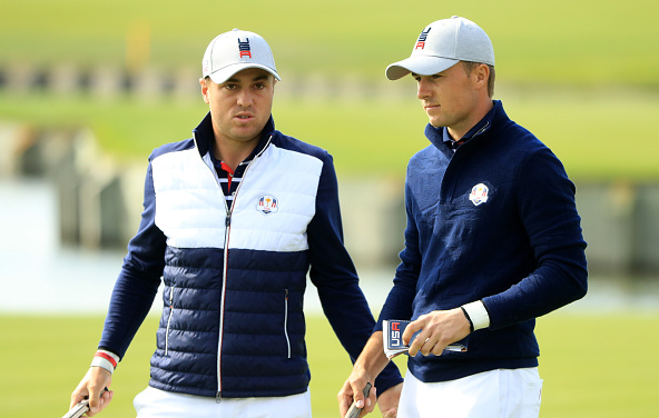 Jordan Spieth and Justin Thomas Ryder Cup