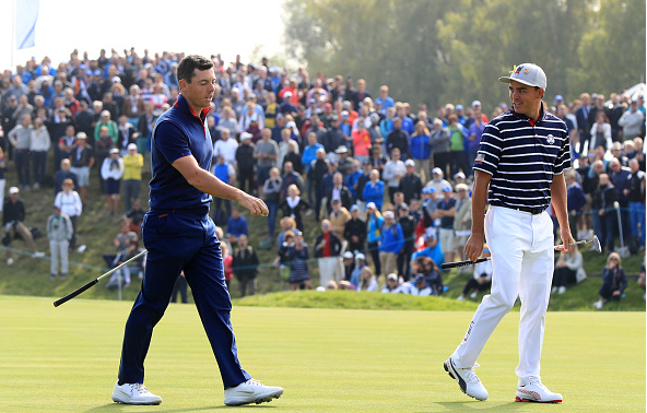 Rory McIlroy and Rickie Fowler Ryder Cup
